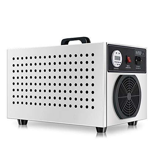 MMUY-1 Ozone Generator,Commercial Air Purifier with LCD Display and Built-in Air Cooling System,Suitable for Animal Husbandry, Cosmetics Factory, Food Workshop, 15g