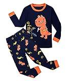 Garsumiss Jungen Schlafanzug Kinder Dinosaurier Pyjamas Sets Kleinkind Pjs Nachtwäsche 2-8 Jahre