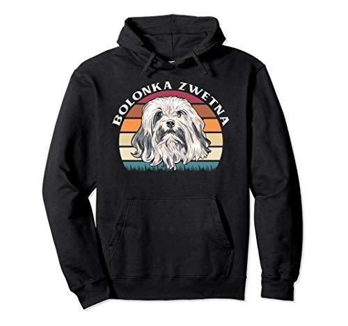 Bolonka Zwetna Retro Design Pullover Hoodie