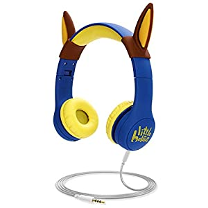 Kids Headphones with VoliDog Ears, Little Helpers Wired Over-Ear Headphones with Music Sharing Function,85dB Volume…