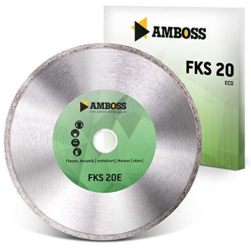 Amboss FKS 20 - Diamant-Trennscheibe Ø 180 mm x 22,2 mm - Fliesen/Keramik/Marmor | Segmenthöhe: 5 mm (gesintert)