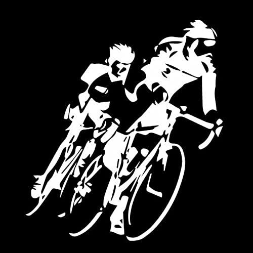 GSPOGTY Adesivi per Auto da 3 Pezzi, 14,5 cm * 16,3 cm Adesivi Impermeabili per Bici da Ciclismo per paraurti per Motocicletta per Bici da Auto per Laptop