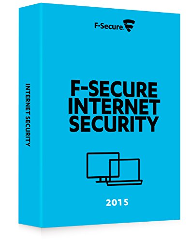 F-Secure Internet Security 2015 (1 an, 3 postes)