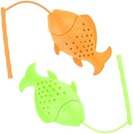 2021 New Design Tea Infuser Cute Set of 2 Fishing Tea Infuser for Loose Tea Cute Ultra Fine product image
