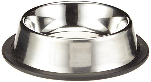 Nobby Edelstahlnapf flach, rutschfest Ø 15,5 cm 0,25 ltr