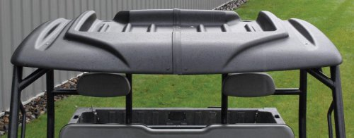 Premier Plastics 60in. 2 Piece Universal Roof with Cargo Storage VPRE-UNI0103BK