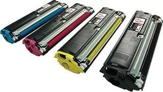 Clearprint 1710517-005, 1710517-006, 1710517-007, 1710517-008 Compatible Color Toner Set for Konica Minolta QMS Magicolor 2300 printers