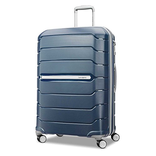 Samsonite Freeform Hardside Luggage, Navy, Checked-Large