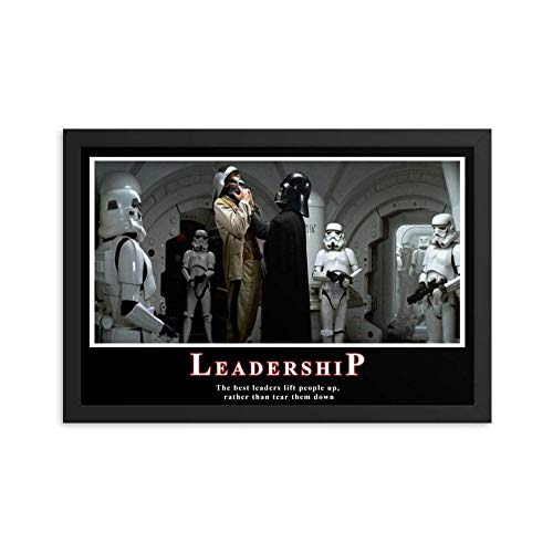 Da.rth V.ad.er Lea.der.Ship - The Best Leader Lift People Up Poster - 11x17 16x24 24x36 Inch Poster No Framed XU5U (24'x36')