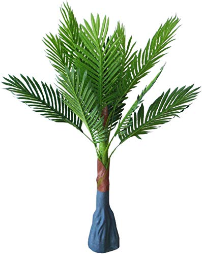MedianField 【 観葉植物 フェイクグリーン パキラ 85cm 】 フェイク 造花 人工観葉植物 大型 軽量 インテリア 観葉 植物 おしゃれ 雑貨 人工 鉢植え 緑 グリーン ギフト 鉢 なしタイプ (パキラ)