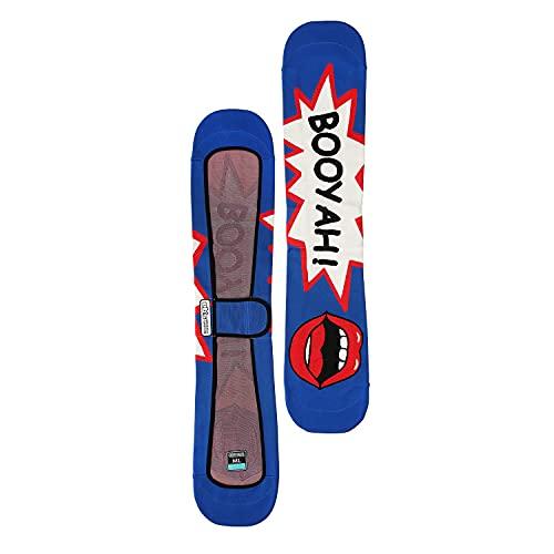 eb's BOOYAH スノーボード ニットケース KNIT COVER 4100307 スノボ ソールカバー エビス (ORANGE, ML)
