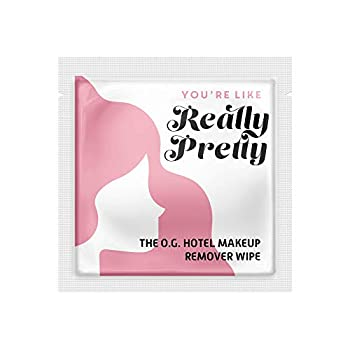 """LA Fresh Makeup Remover Facial Cleansing Wipes Pack of 50ct Individually Wrapped 6x8"""" Wipes Made With Vitamin E To Leave Skin Soft And Smooth Convenient Size For Purse Gym Bag Nightstand Car Travel Size"""