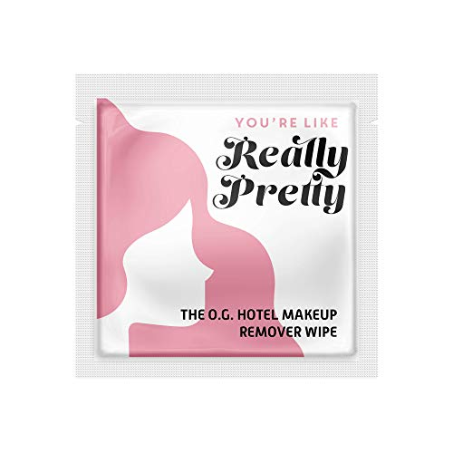 """LA Fresh Makeup Remover Facial Cleansing Wipes Pack of 50ct Individually Wrapped 6x8"""" Wipes Made..."""