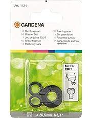 GARDENA Zestaw podkładek: Seria pierścieni uszczelniających do wymiany starych uszczelek do kranu GARDENA nr 18201 i 18241 (1124-20)
