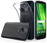 Tumundosmartphone Funda Gel TPU Fina Ultra-Thin 0,5mm Transparente para Motorola Moto E5 / G6 Play