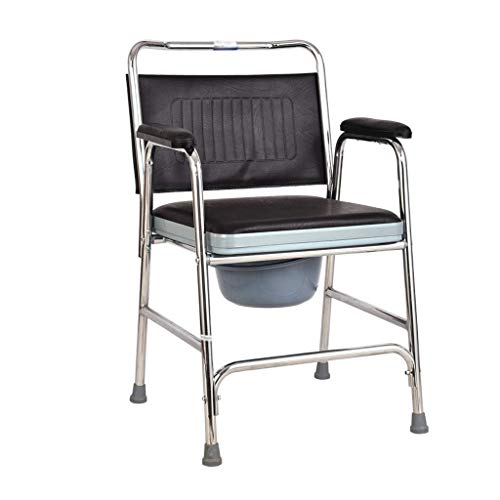 GFF Multifunktionaler tragbarer Toilettensitz für ältere Menschen Behindertengerechter Duschstuhl