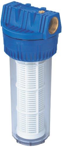 Metabo Filter 1 Zoll, lang, mit waschbarem Filtereinsatz (Höhe: 310 mm, Ø 120 mm, Wasserdurchfluss: 6400 l/h) 0903050306