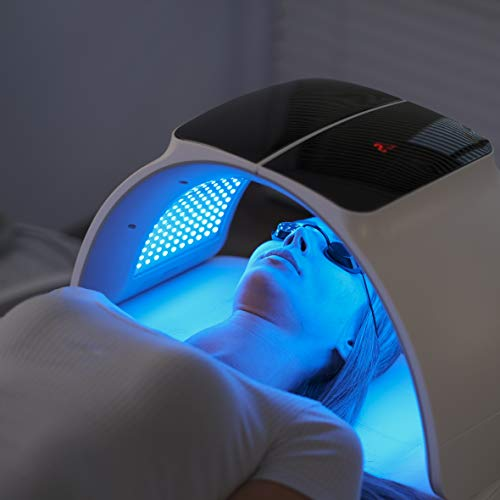 ROCSTDM 3 Color LED Face Photon Mask Photon Light Skin Rejuvenation Therapy Facial Skin Care Machine