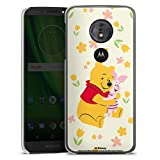 DeinDesign Coque Compatible avec Motorola Moto G6 Play Étui Housse Winnie l'ourson Porcinet Ourse...