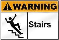 安全標識-警告階段。インチ金属錫サインUV保護および耐候性、通知警告サイン
