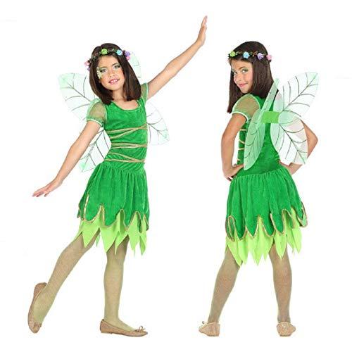 Atosa-56919 Disfraz Hada, Color Verde, 10 a 12 años (56919)