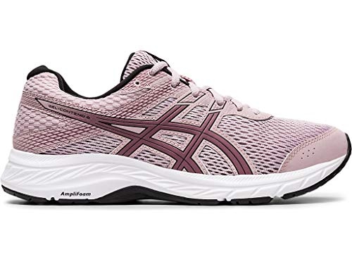 ASICS Women's Gel-Contend 6 Running Shoes, 8M, Watershed Rose/Purple Oxide