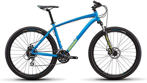 Diamondback Bicycles Diamondback Bicycles Overdrive 1 27.5 Hardtail Mountain Bike, Blue