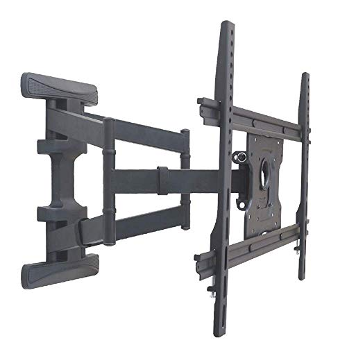 N/Z Tägliche Ausrüstung TV-Halterung Halterung Haltbarer Profil TV-Wandhalterung für die meisten 32 70-Zoll-LED-LCD-Bildschirmfernseher Für kippbare TV-Halterung (Farbe: Schwarz Größe: 32 70 Zoll)
