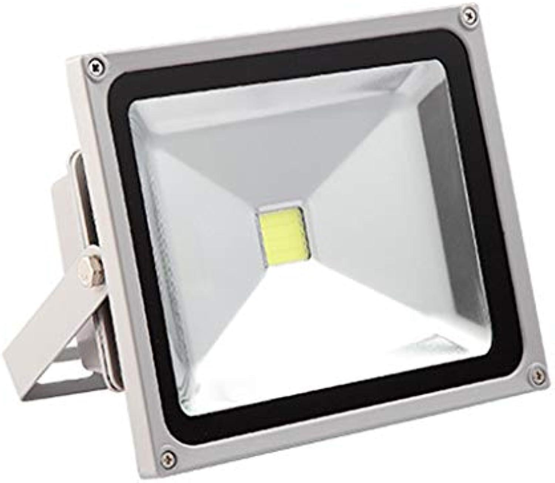 LXQGR LED-Flutlicht-Arbeitsscheinwerfer im Freien Warme und weie Lichtquelle IP65Water Proof Projektionslampe Auenbeleuchtung Straenlaterne Werbung Suchscheinwerfer Fluter