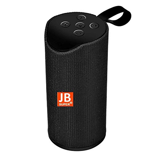 JB Super Bass Portable Wireless Bluetooth Speaker 10W with Built-in mic, TF Card Slot, USB Port - Multi Color