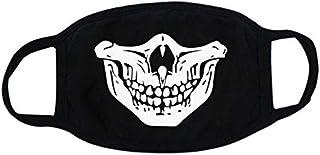 Cool Luminous Teeth Pattern Unisex Cotton Blend Anti Dust Face Mouth Mask