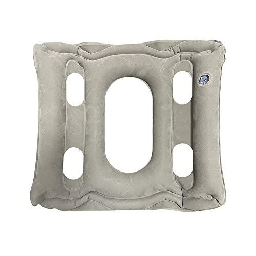 Aufblasbares Sitzkissen Air Aufblasbares Kissen Anti Dekubitus Rollstuhl Sitzkissen Sitzkissen für Bürostuhl Druckentlastung Kissen Camping Sitzmatte 38 x 40 cm