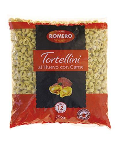 Romero, Tortellini Carne Granel- 4 bolsas de 2000 gr. (Total 8000 gr.)