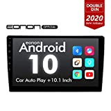 2020 Double Din Car Stereo, Android Head Unit with DSP, Eonon 10.1 Inch