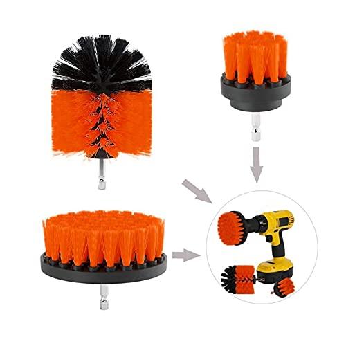 Cepillo de rueda Pincel de perforación eléctrica Pincel de limpieza para neumáticos de vidrio de alfombras Cepillos de nylon Scrubber Scrubber Talk Cleaner Herramientas Cepillo de limpieza de ruedas d