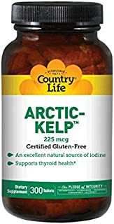 Country Life Arctic Kelp 225 mcg, 300-Count