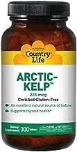 Country Life Arctic Kelp 225 mcg, 300-Count