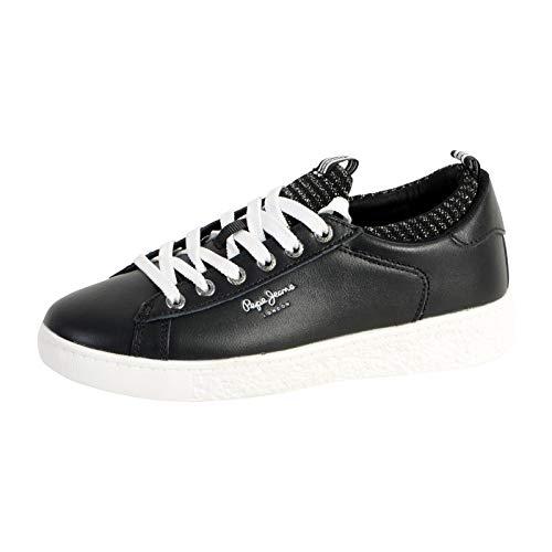 Pepe Jeans TURNSCHUHS PLS30780 Roxy Sock 999BLACK 37 Schwarz