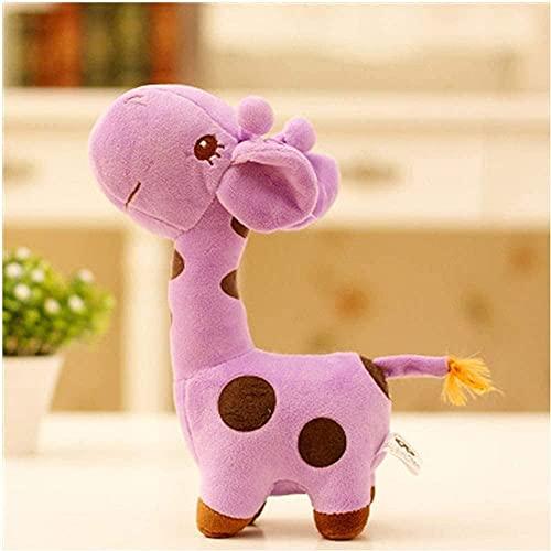 Kuschelpuppen 25cm/40cm/50cm/60cm Plüschtiere Puppe Kuscheltiere Figur Spielzeug, Unisex Plüsch Giraffe Stofftier Tier Liebe Puppe Baby Kind Kind Weihnachten Geburtstag Glückliche Bunte Geschenke