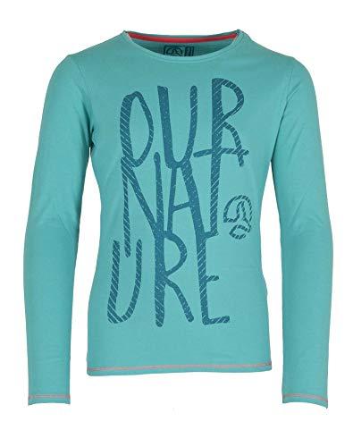 Ternua® T-Shirt Banke T Shirt G Filles S Multicolore - Bleu (Blue Curacao)