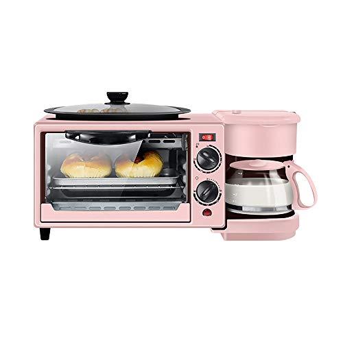 Ontbijtmachine - elektrische broodmachine voor huishoudelijk gebruik, drie in een automatisch frituurapparaat, constante temperatuur, corrosiebestendigheid