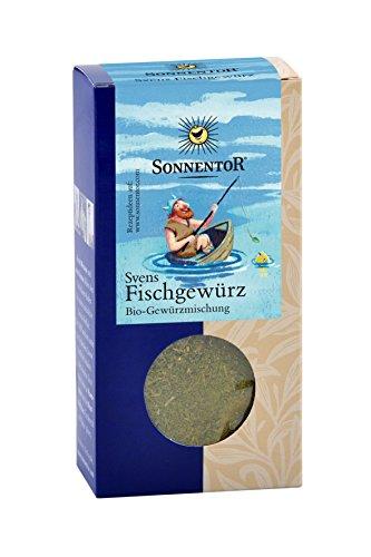 Sonnentor Svens Fischgewürz gemahlen, 1er Pack (1 x 35 g) - Bio