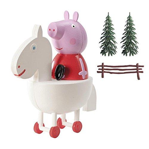 Dekora - Decoracion para Tartas con la Figura de Peppa Pig de PVC , color/modelo surtido