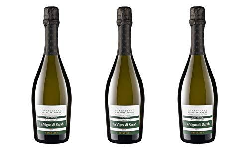 La Vigna di Sarah - RIVE DI COZZUOLO Conegliano Valdobbiadene Prosecco Superiore DOCG Biologico - Extra Dry - 0,75l (3)