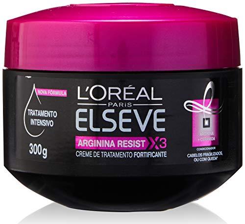 Creme de Tratamento Arginina X3 Elseve L'Oréal Paris 300 g, L'Oréal Paris