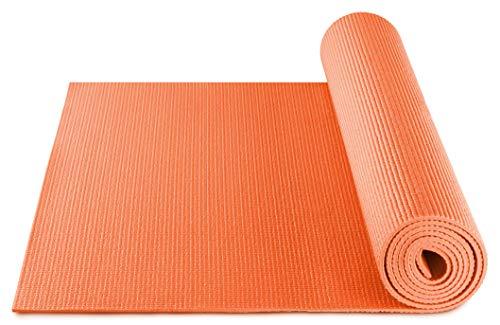 BODYMATE Esterilla de Yoga Universal   Tamaño 183x61 cm   Grosor 5 mm   Libre de ftalatos, BPA y Metales Pesados   Esterilla para Fitness, Yoga, Pilates, Entrenamiento Funcional