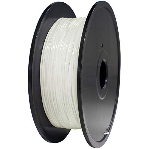 GEEETECH TPU flessibile filamento 1,75 mm bianco, filamento stampante 3D 400 g 1 bobina
