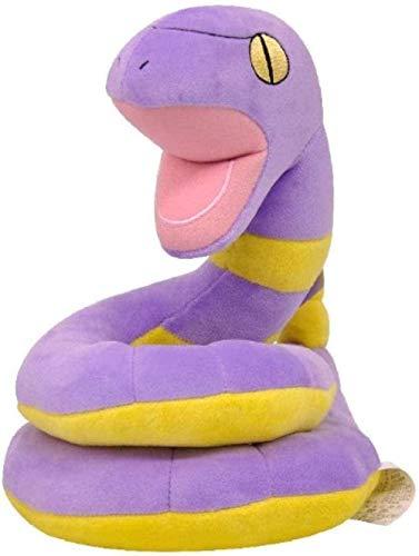 HNTOY Pet Elf Pikachu Ekans Plush Toy 22Cm Animal Plush Stuffed Toys Gifts for Kids