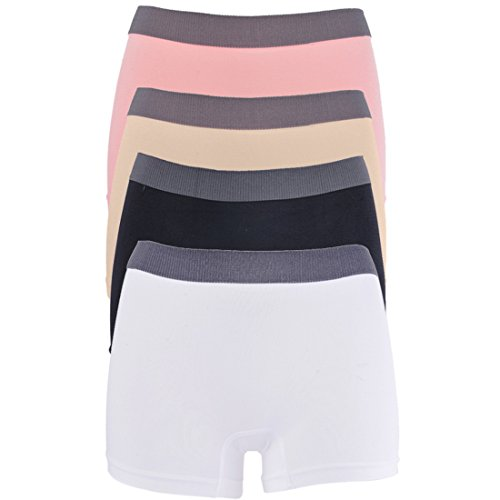 Vertvie Panties Hipsters Boxershorts voor dames, 2-/3-/4-delige set, naadloos