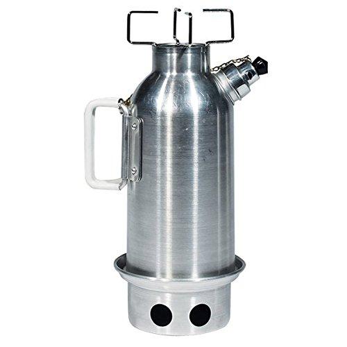 ALB Samovar 1,2 Liter Camping Kettle Wasserkocher Campingkocher